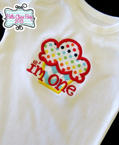 Rainbow Cupcake Boy Top