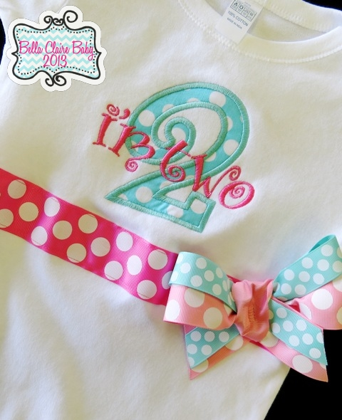 Cotton Candy Initial Top