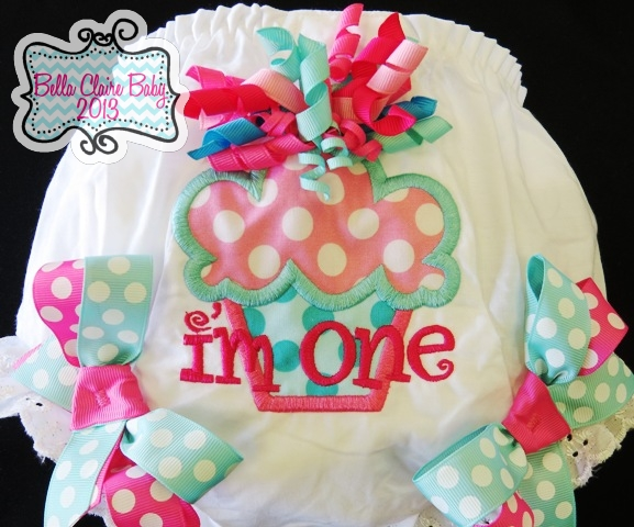 Birthday Bliss Cupcake  Bloomers