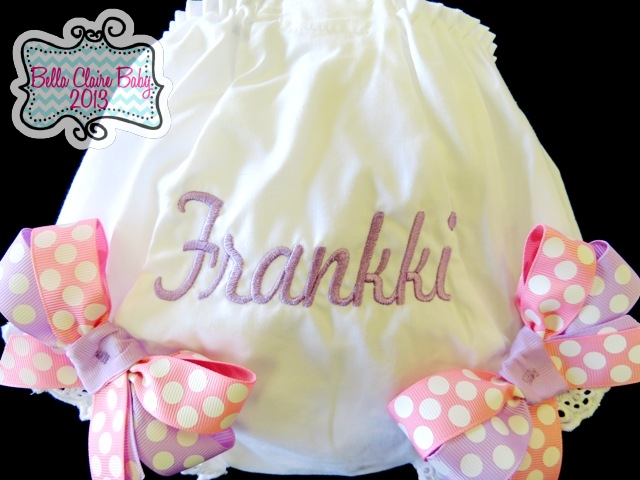 Lavender Bliss Personalized Bloomers