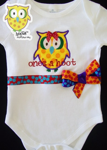 Rainbow HOOTs Top
