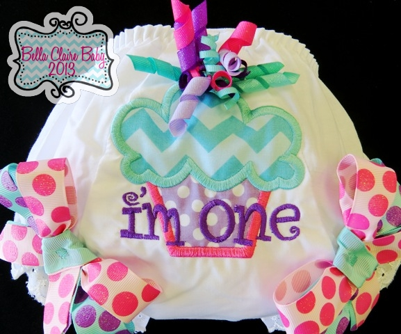 Sweet Spring Cupcake Bloomers