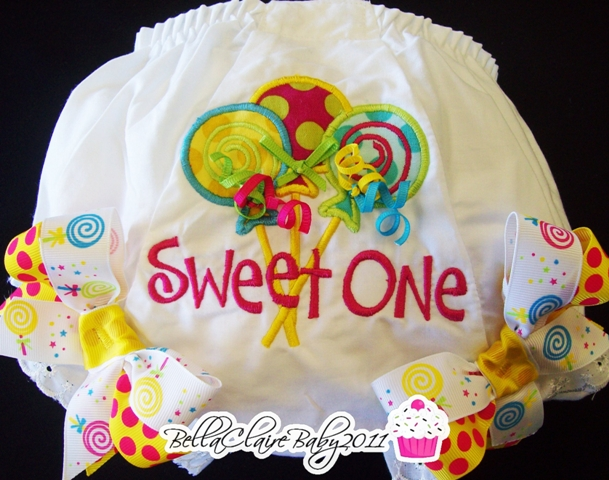 Sweet Candy Girl Lollipop Trio Bloomers